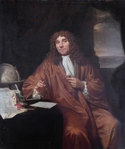 Anthonie van Leeuwenhoek (1632-1723), by Jan Verkolje (I)