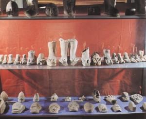Parti del corpo ex voto, ritrovate in vari Asclepiei