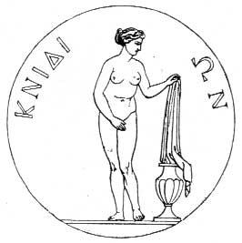 Moneta di Cnido dedicata ad Afrodite
