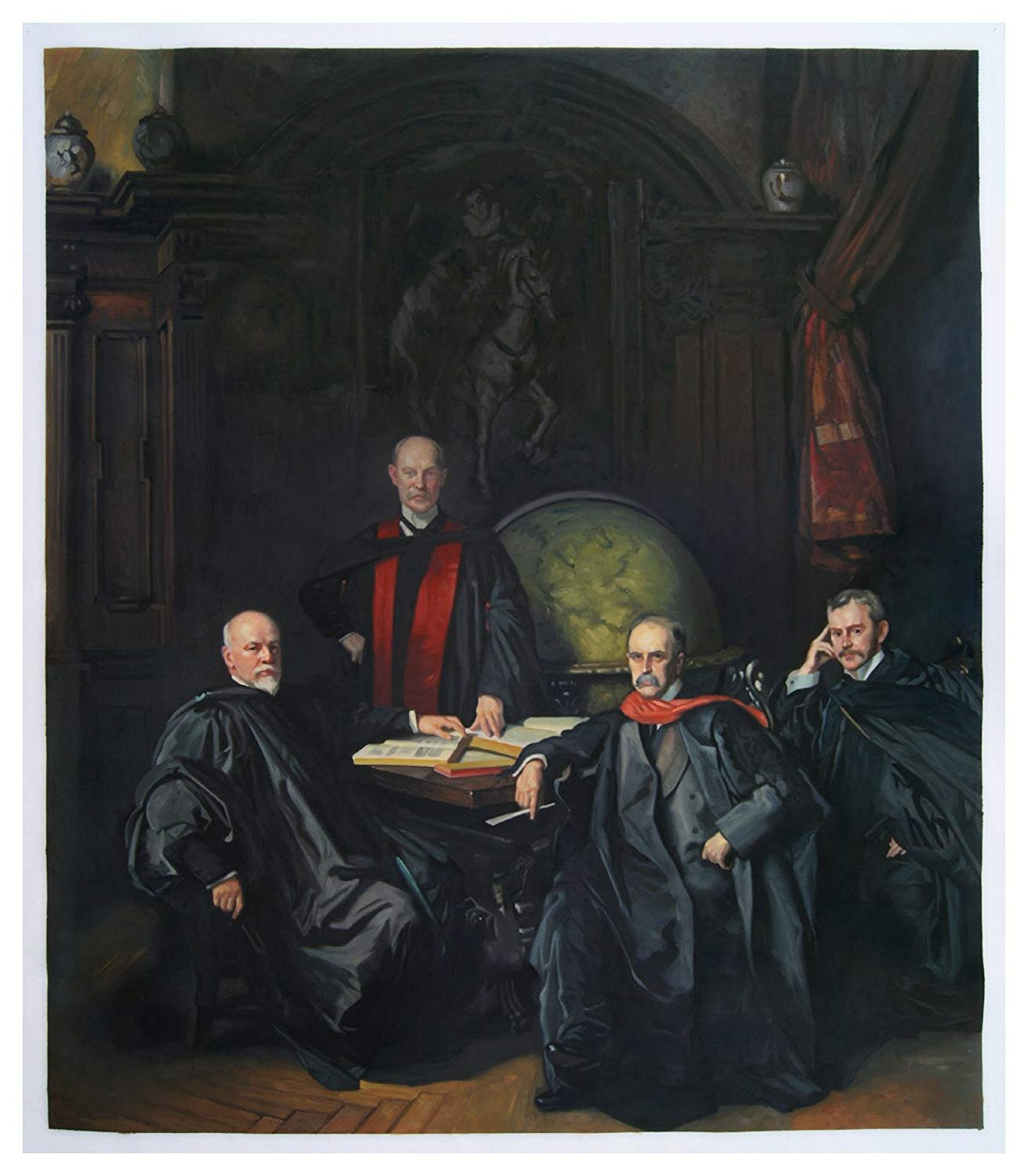 The Four Doctors del Johns Hopkins (Welch, Halsted, Osler e Kelly) di S. Sargent